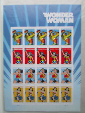 Wonder Woman 75th Anniversary Sheet of 20 Forever First Class Postage Stamps
