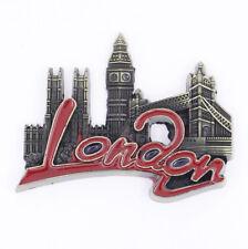 Landmark Building London England Fridge Magnet Bronze Metal Souvenir Gift New