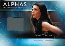 Alphas Season One M10 Wardrobe Costume Card Laura Mennell as Nina Theroux