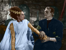 Famous Monsters The Bride of Frankenstein Print 14 x 11""