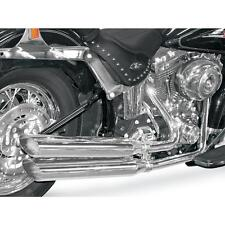 """Cycle Shack Slight Upsweep 4 in. Oval """"M"""" Pipe Exhaust System"""