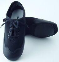 Capezio TJ10A Adult Size 14M Black Techno Oxford Lace Up Jazz Shoe