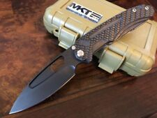 Medford Knife and Tool INFRACTION - D2 PVD - Carbon Fiber - MK31DP-05TM