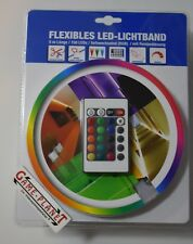 LED-Lichtband - 16 Farben - mit Fernbedienung - 5 Meter NEU OVP 150 LEDs 24 watt