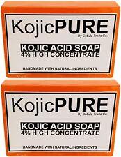 2x Pack of Kojic Acid Soap Bars for Skin Whitening / Lightening / Bleaching K1