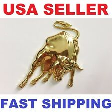 3D Lamborghini Bull Emblem Metal COOL Car badge Decal Logo Sticker Gold Chrome