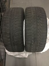 Pair of Michelin X-Ice Winter Tires 215/45R18 89Q M+S Tubeless