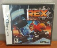 Gemerator Rex Agent of Providence  Nintendo DS Game NEW Still Sealed