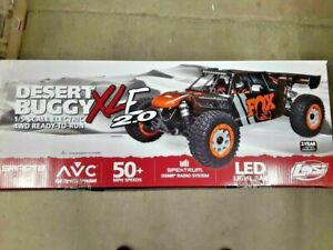 Losi Desert Buggy DB XL-E 2.0 8S 1/5 RTR 4WD Electric Buggy Fox LOS05020V2T1 New