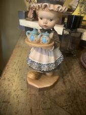 "Vtg Anri 6"" Ltd 1210 4000 Carved Wood Figurine"
