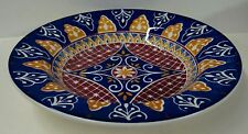 Pier One 1 VIZCAYA Rim Soup Bowl HAND PAINTED