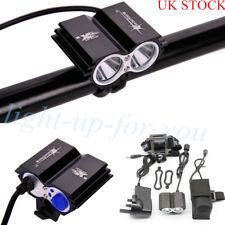 5000LM 2xCR XMLT6 LED Bike Bicycle Headlight Headlamp + Li Battery + Charger Set
