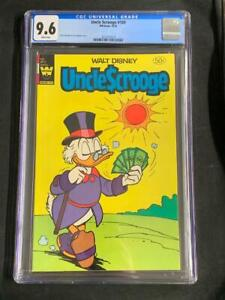 UNCLE SCROOGE #189, (1981), CGC 9.6, White Pages, Walt Whitman Comics
