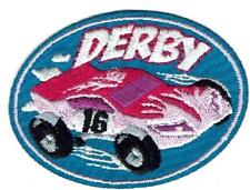 Girl POWDER PUFF DERBY car Fun Patches Crests Badges SCOUT GUIDE race racer