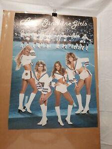 Original Vintage Poster Argo Sunshine Girls cheerleader Toronto Cfl football
