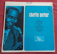 CHARLIE PARKER LP ORIG FR 60'S JOC JAZZ SERIES