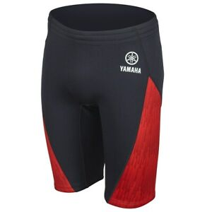 Yamaha Men's Yamaha Neoprene Ride Shorts Red