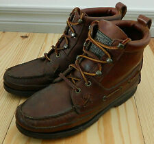 Polo Sport Ralph Lauren Leather Lace Up Hiking Ankle Boots Womens 7.5 Brown   s