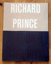 RICHARD PRINCE - FOUR COWBOYS - 2009 RARE 4 POSTER PUBLICATION - FINE/SHRINKWRAP