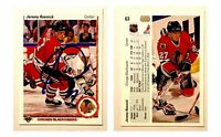Jeremy Roenick Signed 1990-91 Upper Deck #63 RC Card Chicago Blackhawks HOF Auto