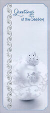Silver Ornament Greetings - Christmas Money & Gift Card Holders