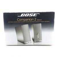 Bose Companion 2 Series II Multimedia Speaker System - Graphite - NEW - N01