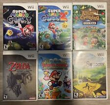 Wii Games Bundle; Mario Galaxy, Lost In Shadow