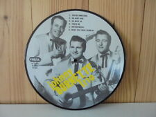 10 inch 25 CM Johnny Burnette Trio ( Picture Disc ) Rockabilly Vinyl LP Great !