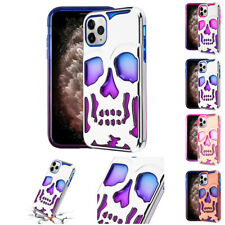 FOR APPLE IPHONE 11 PRO MAX TRANSPARENT CLEAR SKULLCAP CASE IMPACT COVER+STYLUS