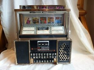 RARE VINTAGE 1960'S AMERICAN DINER SEEBURG STEREO CONSOLETTE WALL MOUNT JUKEBOX