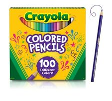 Crayola Colored Pencils, Assorted Colors, 100/Pack