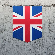 "Flag of the United Kingdom sticker - 2"" x 2.5"" - Car Decal UK Emblem Union Jack"