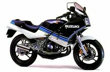 SUZUKI RG250 GAMMA MK2  1984 FULL PAINTWORK DECAL KIT