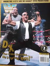 WWF Magazin January 1998 USA WWE Wrestling Degeneration X