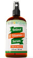Potente Suero De Retinol Y Vitamina C- Activa El Colageno En Tu Piel