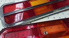 FORD XB XC FALCON COUPE REAR TAIL LIGHT LENSES CHROME SUIT GT GS FAIRMONT