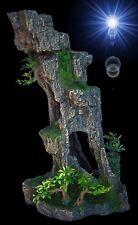Aquarium Deko 🍀 HOHER FELSEN 🍀 Grotten Höhle Barsche Welse Terrarium Zubehör