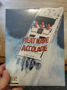 """Rare Heat Wave - Offshore Superboat Racing Accolade 1989 3.5"""" for PC BigBox CIB!"""