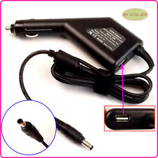 Car DC Power Adapter Charger + USB Port for Samsung NT-P530 NP-P230 NP-Q310 M350