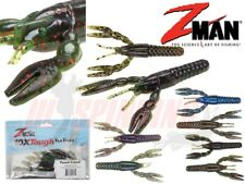 """ZMan Fishing Lures PUNCH CRAW Z 4"""" 6Pcs  Z-Man Jig Texas Ned Rig Wrasse Bass UL"""
