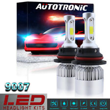 1500W 225000LM HB5 9007 Dual HI/LO LED Headlight Conversion Bulb Kit 6000K White