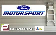 FORD Motorsport Retrò Officina, Garage Banner, 1990s, Race, Auto da Rally, ESCORT