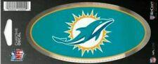 "Miami Dolphins 3x5"" Chrome Decal Chrome trim auto accent window or bumper"