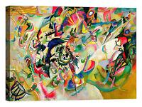 Wassily Kandinsky Composition No. 7 Stampa su tela Canvas effetto dipinto