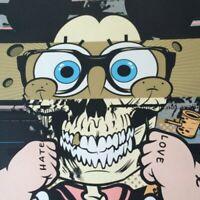 Provocateurs - 2014 D*Face Shepard Fairey poster Pop-Eye-Con Art Alliance