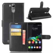 Oukitel K6000 Pro Cartera Funda Cover Flip Wallet Case bolsa Carcasa Negro