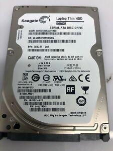 Seagate 500GB 7,2k RPM SATA HDD ST500LM021 756731-001 1KJ152-020 703267-001