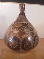 Céramique Vintage 70 Pied Lampe Grès JC Courjault La Cerisaie DLG Kéraluc *5