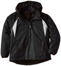 Akoa Boy's Long Sleeve Rain Jacket, Black (Black/White), X-Small Age 12yrs BNWT
