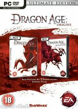 Dragon Age Origins Ultimate Edition PC Brand New Factory Sealed Fast Shipping